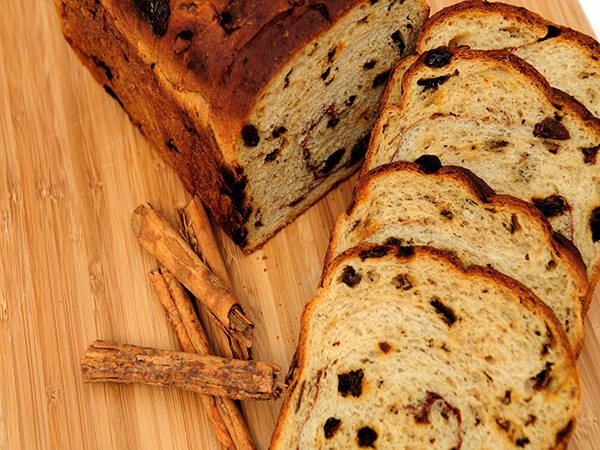 Saffron and Raisin Bread