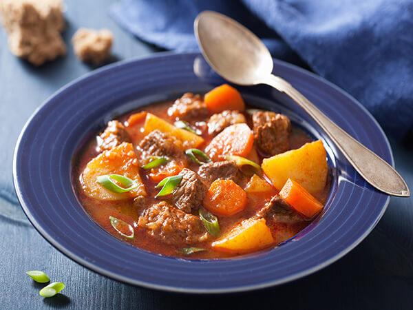 Meat and veggies stew (vij vij)