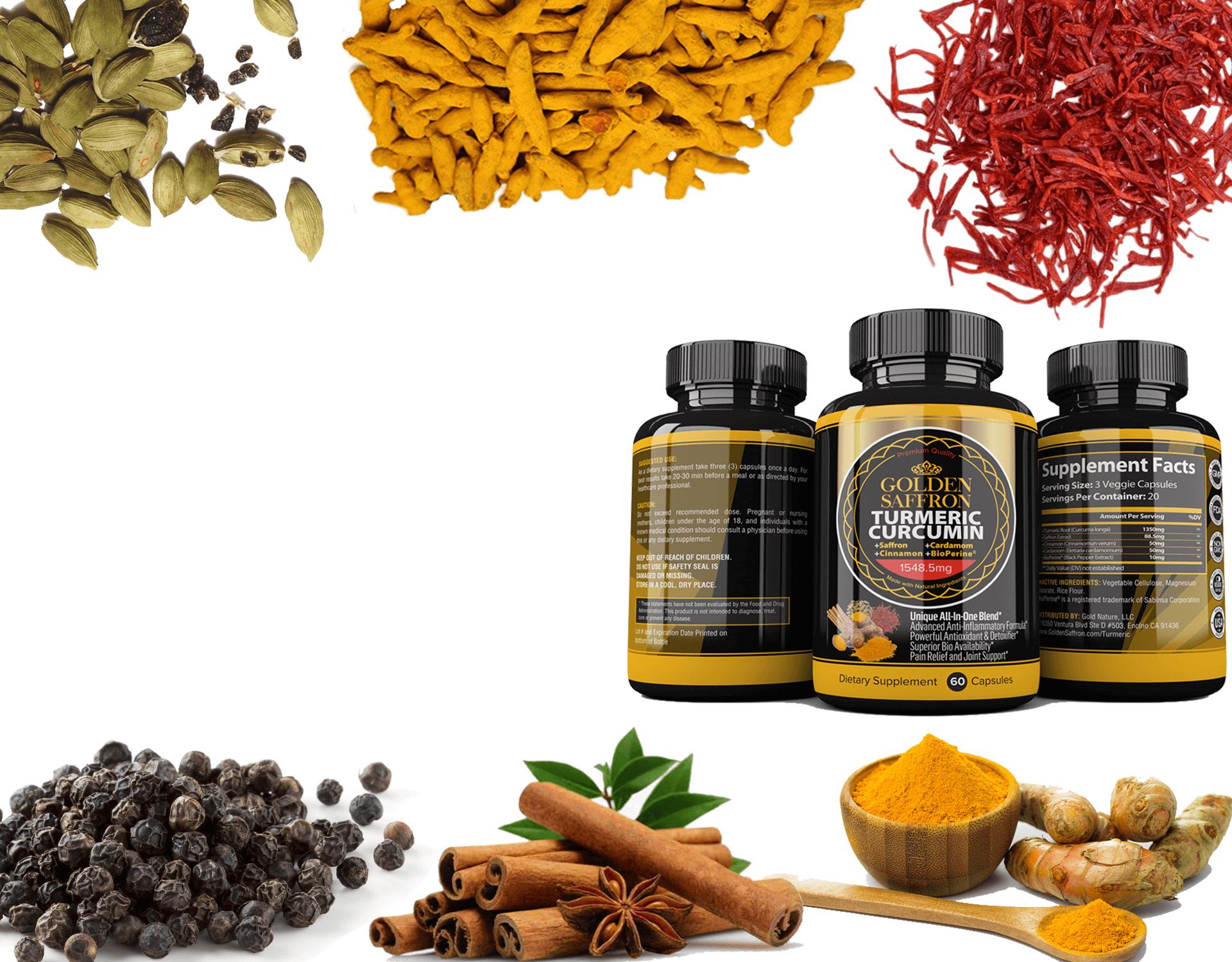 Golden Saffron Turmeric Curcumin Joint Support